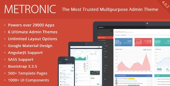 Metronic - Responsive Admin Dashboard Template - themeforest temalar themeforest tasarımlar themeforest kazananlar themeforest ençok kazananlar themeforest 2015 themeforest en çok kazananlar