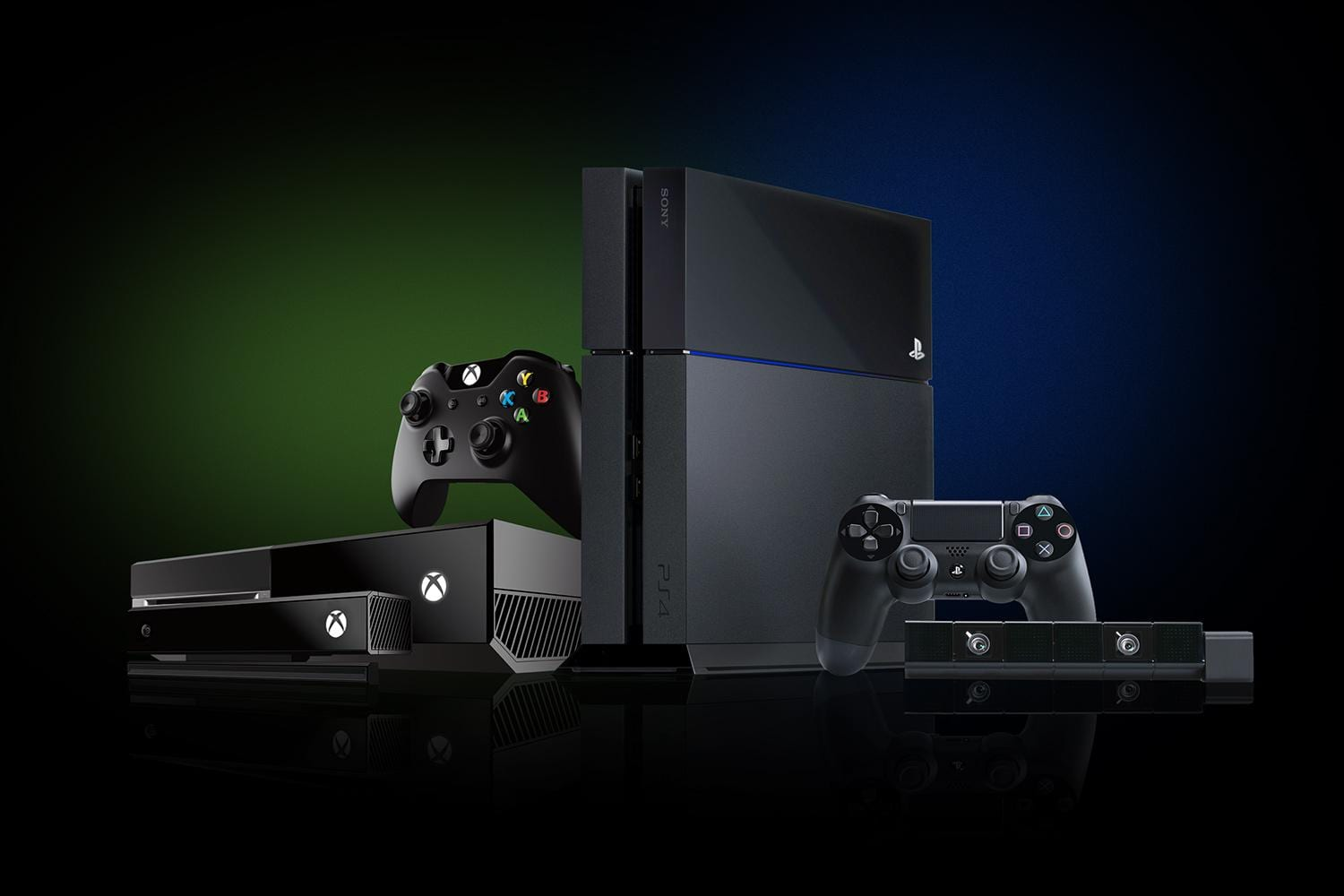 xbox one vs playstation 4 -