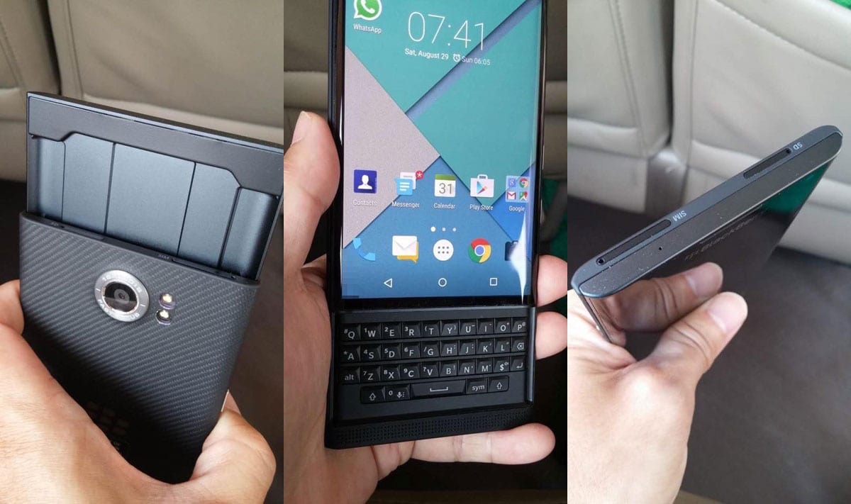 BlackBerry confirms 'Priv' Android phone will launch this year - resimleri BlackBerry Priv Resimleri blackberry priv blackberry Android