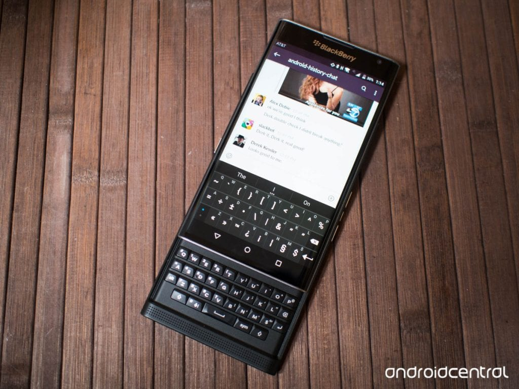BlackBerry Priv Review | Android Central