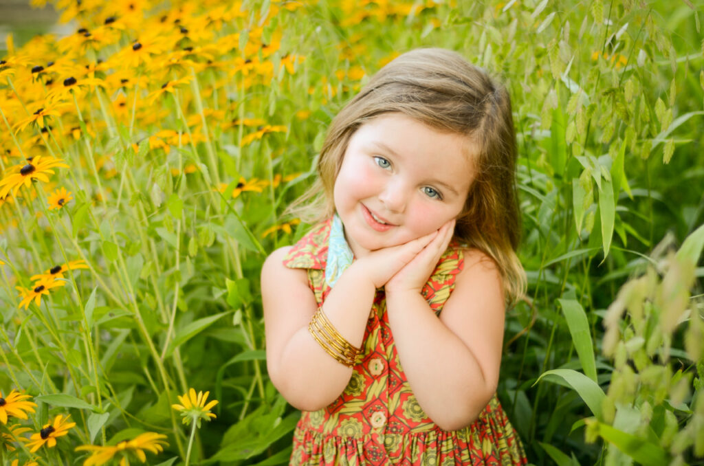 South Hills Childrens Photography – Isabelle – Beautiful 4-year …