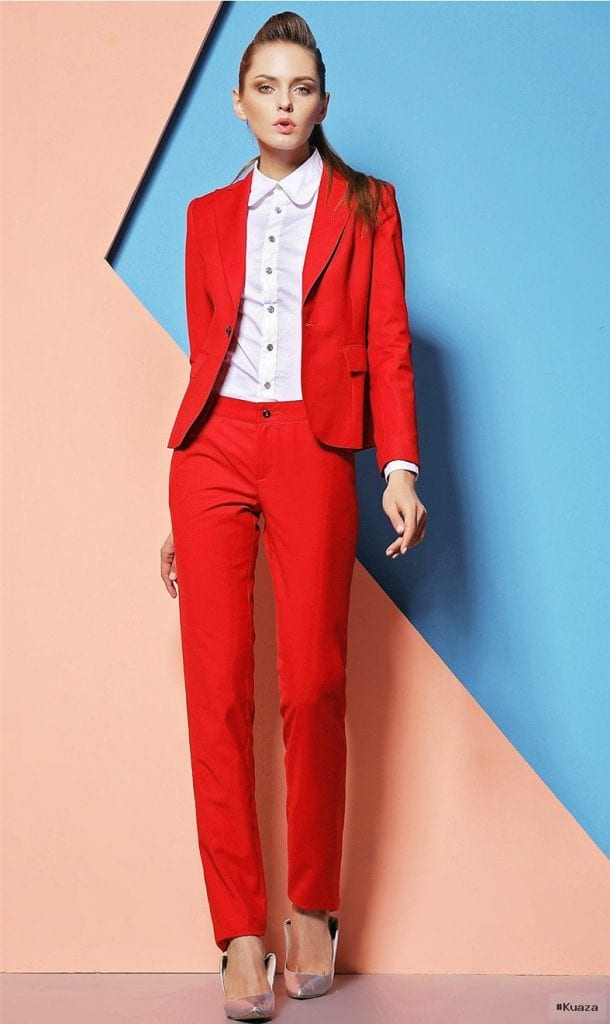 Popular Red Womens Suits-Buy Cheap Red Womens Suits lots from …