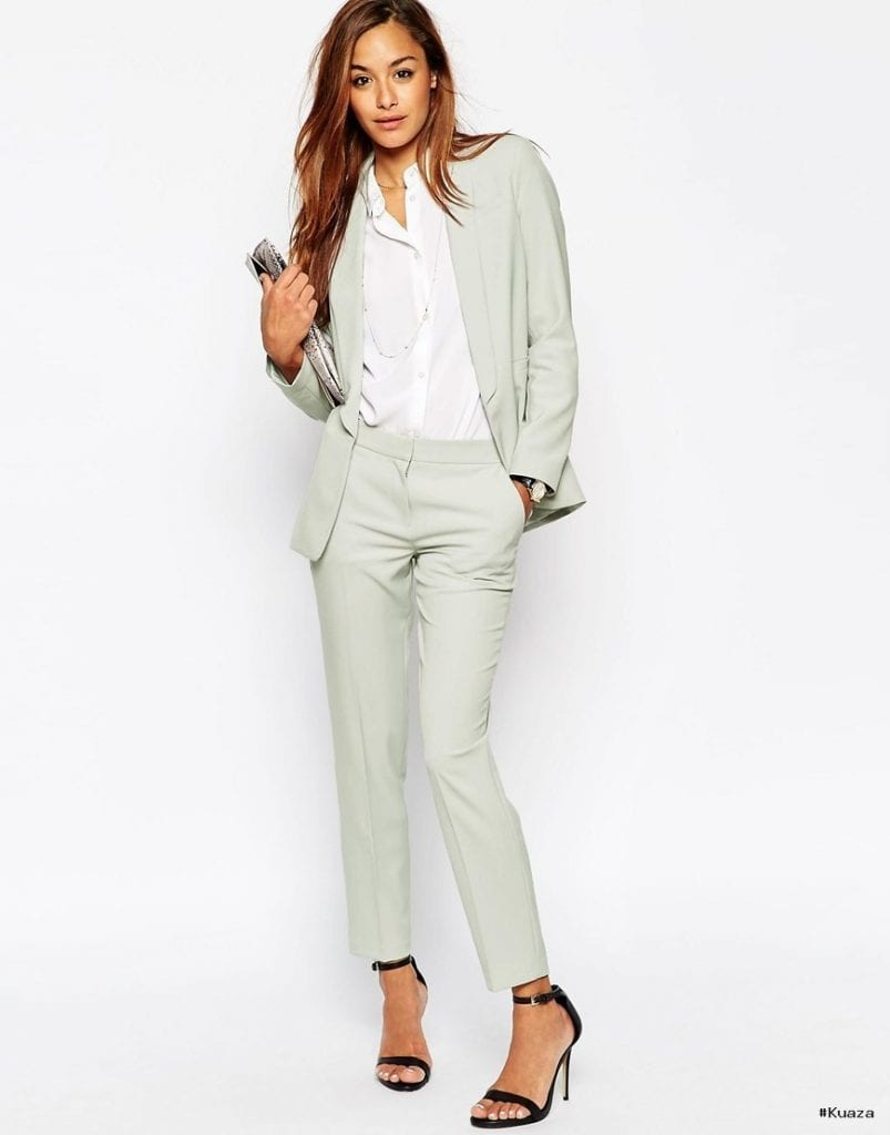 women's light grey suit – Google Search | FASHION – WOMEN'S …