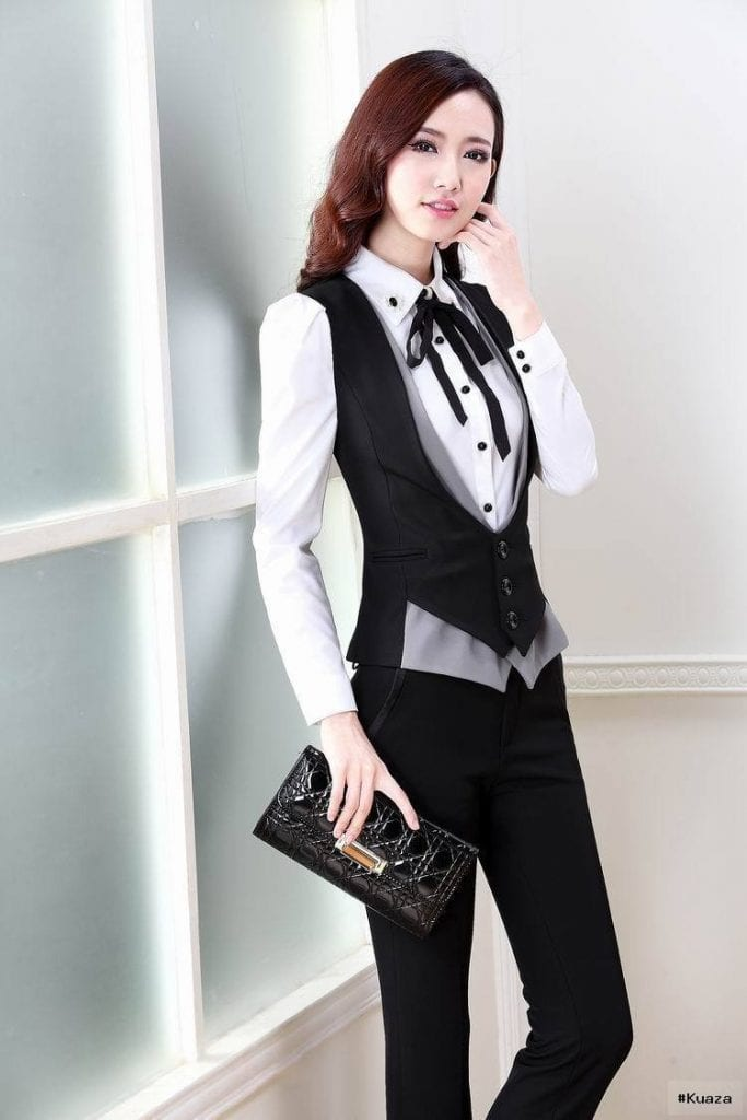 womens suit vest | women suits | Pinterest | Suit Vest, Woman Suit …