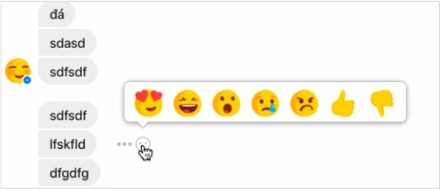 1488747062 screen shot 2017 03 05 at 20 Facebook, Messenger da Reactions Özelliğini Deniyor Teknoloji  messenger reactions messenger facebook reactions Facebook Messenger Facebook