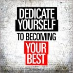 Motivational gym and fitness quotes: Dedicate yourself to becoming ...